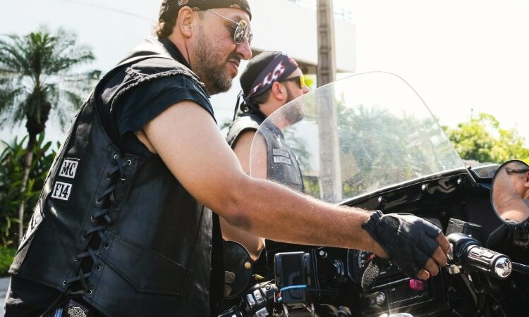 Why Do Motorcycle Riders Wear Leather Vests